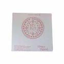 Single Fold Insert Paper Ganesh Design Wedding Card