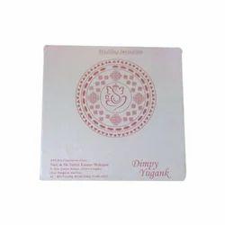 Wedding cards in amritsar single fold insert paper ganesh design wedding card stopboris Images