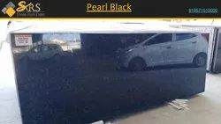 Pearl Black Marble, Slab, Thickness: 15-20 mm