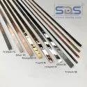 SDS Brand Stainless Steel Groove T Profiles