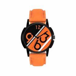 Designer Leather Strap Wrist Watch