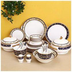 Ceramic White Blue Crockery Dinner Set  sc 1 st  IndiaMART & Ceramic Crockery in Bengaluru ???? ?????? ?? ????? ...