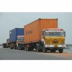 Import 40-Container Transportation from JNPT to BHiwandi
