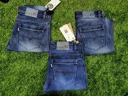 Denim Plain Men Jeans, Waist Size: 30