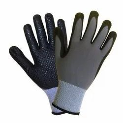 Seamless Nylon shell Nitrile Coated Gloves Premium