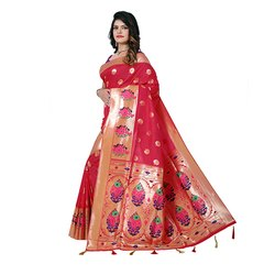 1032 Handloom Silk Saree
