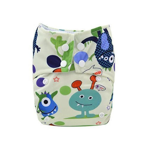 721ddb2683fb Multicolor Baby Printed Cloth Diapers