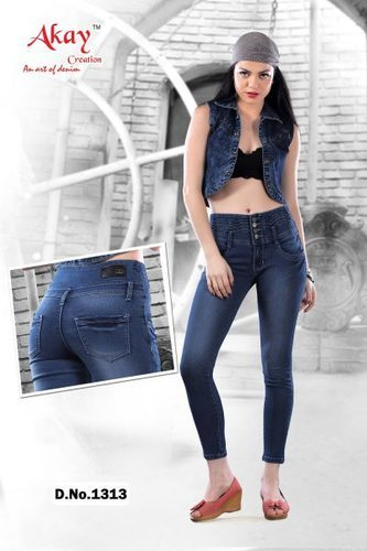 Ladies Stylish Stretchable Branded Jeans