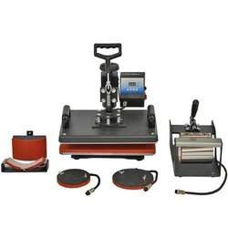 5 In 1 Heat Press Machine For T Shirts, Mug, Pillow for Industrial