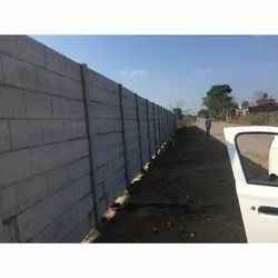 Railway Precast Concrete Compound Wall