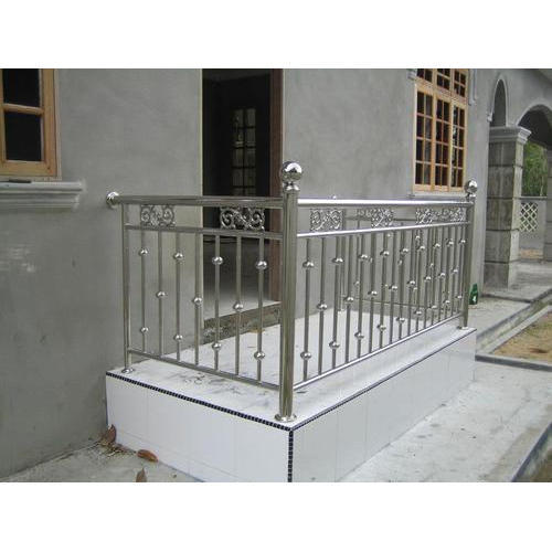 Stainless Steel Balcony Railing, स्टेनलेस स्टील बालकनी ...