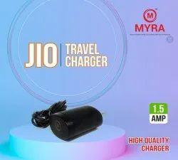 Myra Black Jio Mobile Phone Charger