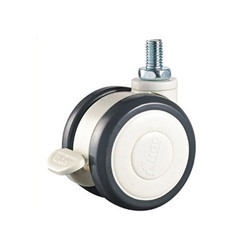 2.5 Inch Medical Twin Caster Wheel