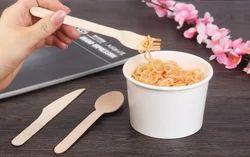Noodles Wooden fork
