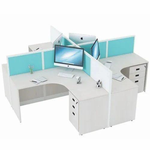 L type workstation