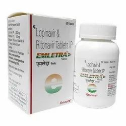 Ritonavir 50 mg Lopinavir 200 mg Tablets