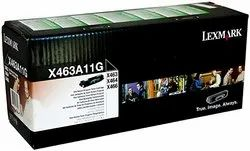 Lexmark X466 (X463A11G) Black TONER CARTRIDGE