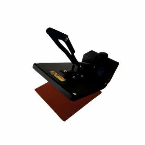 38 x 38cm Flat Sublimation Clam Shell Heat Press 15 X 15 Inch Semi Automatic Fusing T Shirt Machine
