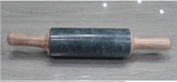 Green Marble Rolling Pin, For Rolling Chapati