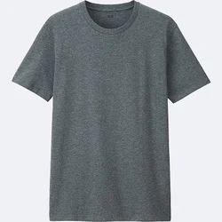 Men's Cotton Plain T Shirt, Size: S, M and L