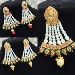 Traditional Brass Imitation Earring