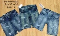 Mens Ripped Short