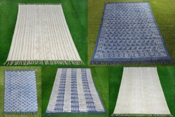 Handmade Printed Rugs & Durries