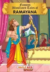 Illustrated Story Book 6 -13 Years Ramayana (Illustrated) - for children