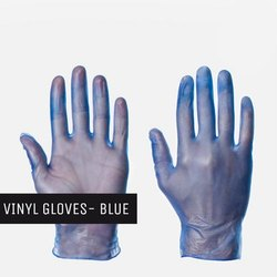 Vinyl Gloves (Clear/ Blue)