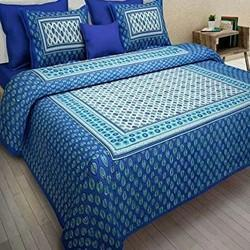 d44d93168af Sanganeri Cotton Bedsheets - Double Bed Sheet (90