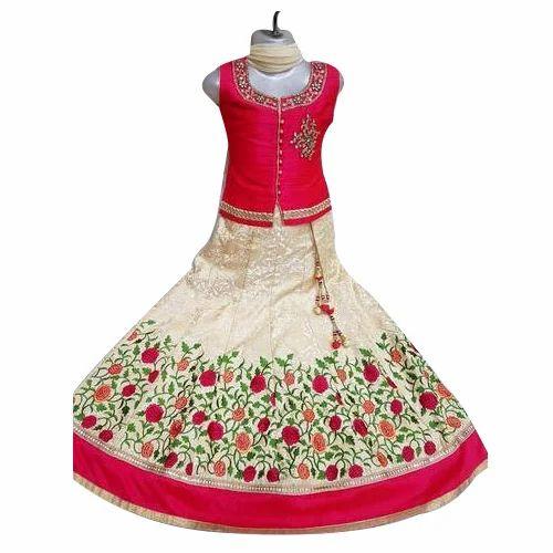 Brocade Party Wear Baby Girl Lehenga Rs 1500 Piece Kabir International Id 20404955748