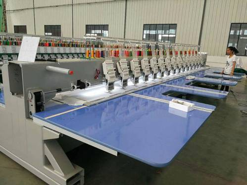 Automatic Single Head Sequence Embroidery Machines