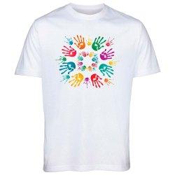 Cotton Holi Festival T Shirt, Size: S