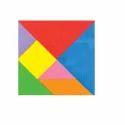 Magnetic Tangram - Math Puzzle