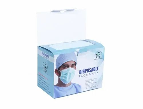 100 disposable face masks