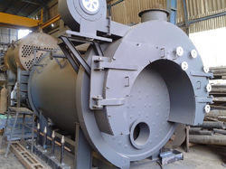 Oil Cum Gas Fired Package Steam Boiler