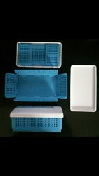 Plain Foldable Plastic Containers for Household
