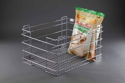19X20X12 Inch Grain Trolley Basket