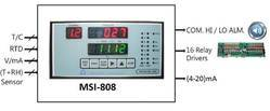 8 Channel Universal MSI-808 Temperature Or Process Scanner
