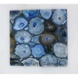 Gemstone Blue Agate Tiles
