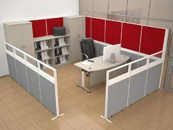 Modular Office Cubicle Workstation