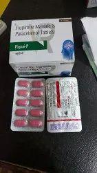 Flupirtine Maleate And Paracetamol Tablets