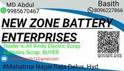 Batteries Use Electronic Scrap