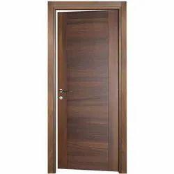 Dark Brown Veneered Door, For Home, Size/Dimension: 3 X 7 Feet