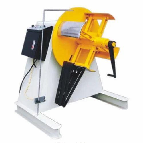 Ludhiana Press Controls Automatic Motorized Decoiler Machine for Automotive Industrial, | ID: 20247069348