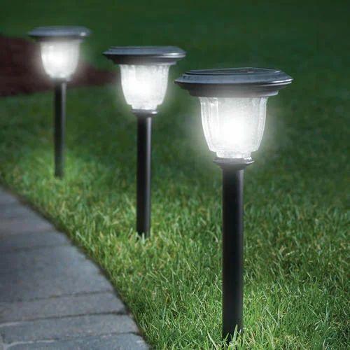 5 W Led Ceramic Solar Garden Light Rs