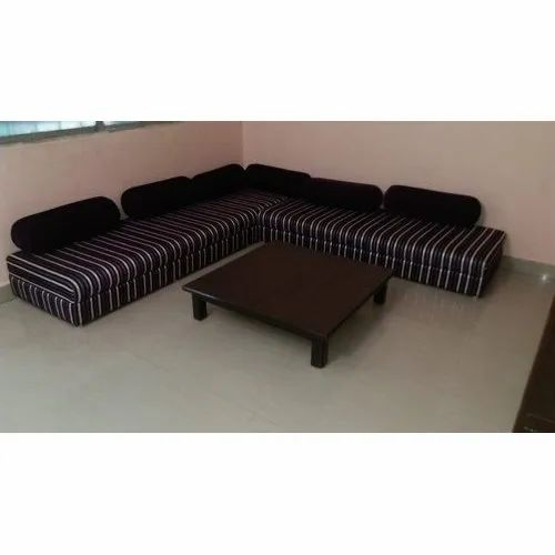 L Shaped Low Height Seating Sofa Set