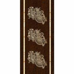 Wood Brown Stylish Lamination Door
