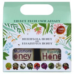 Combo Gift Pack of Multiflora Honey & Eucalyptus Honey 500g each