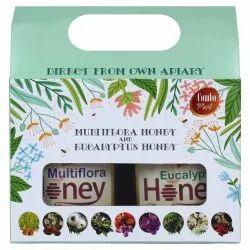 Superbee Combo Gift Pack of Multiflora Honey & Eucalyptus Honey 500g each, 1 kg